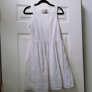 Michael Kors sleeveless white dress